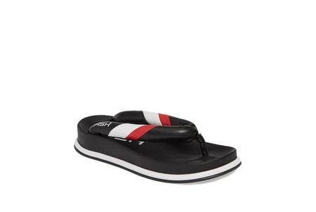 Ash Tonic Flip Flops - Black/White