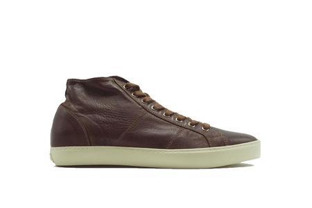 PANTOFOLA D'ORO Del Bello Mid Nappa Sneaker - Bianca