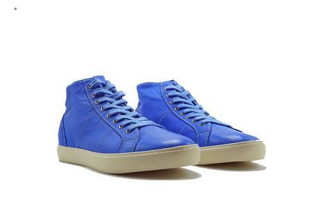 Pantofola D'Oro Del Bello Mid Nappa Sneaker - Bluette