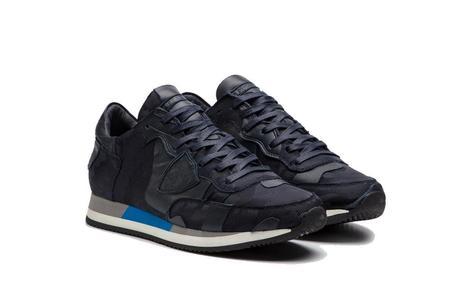 Philippe Model Tropez Sneaker - Camouflage 3D Bleu
