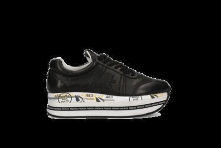 Premiata Beth Sneaker - Black/White