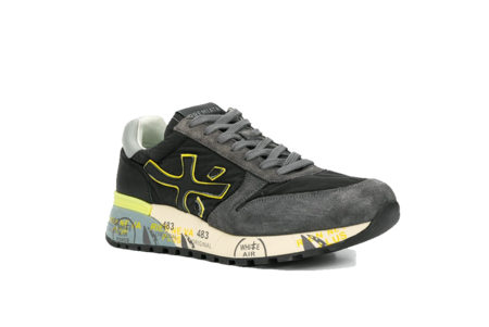 Premiata Mick Sneaker - Grey/Volt