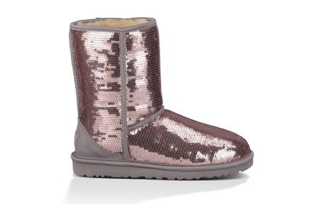 UGG Classic Short Sparkles Boot - Heathered Lilac