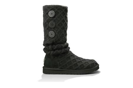 UGG Lattice Cardy Boots - Black