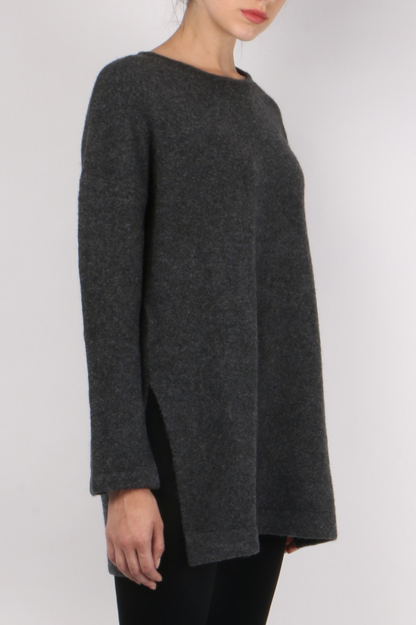 Allude Slit Pullover