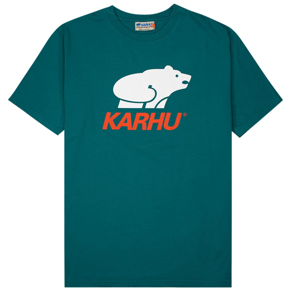 Karhu Basic Logo T-Shirt Bayou White