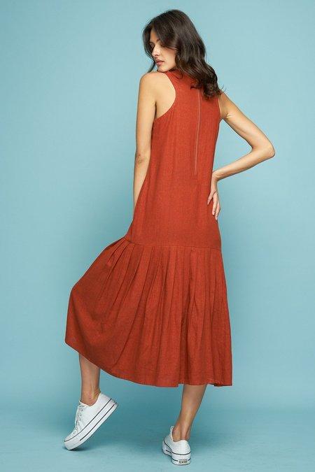 Rue Stiic MONTANA PLEAT DRESS