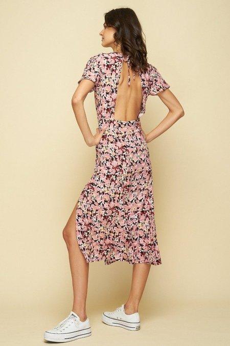 Rue Stiic PASO DRESS - Monet Floral print