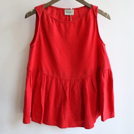 [pre-loved] Rachel Comey Peplum Shirt - Red