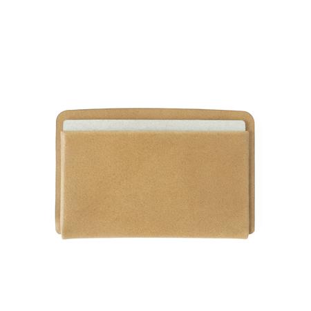 MAKR Loop Landscape Cardholder - Tobacco Horween Leather