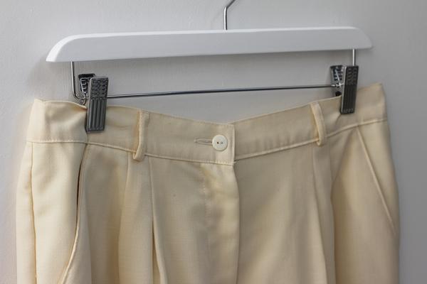 Hey Jude Wool Cropped Trouser