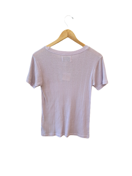 Current Elliott The Heather Tee - Orchid Petal