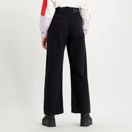 Levi's Premium High Loose Jean - Trainwreck Black