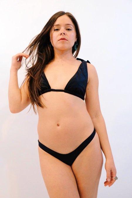 SIDWAY The Linda Bikini Bottom - Black