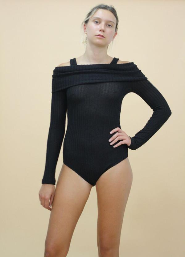 Calder Blake Grace Rib Bodysuit