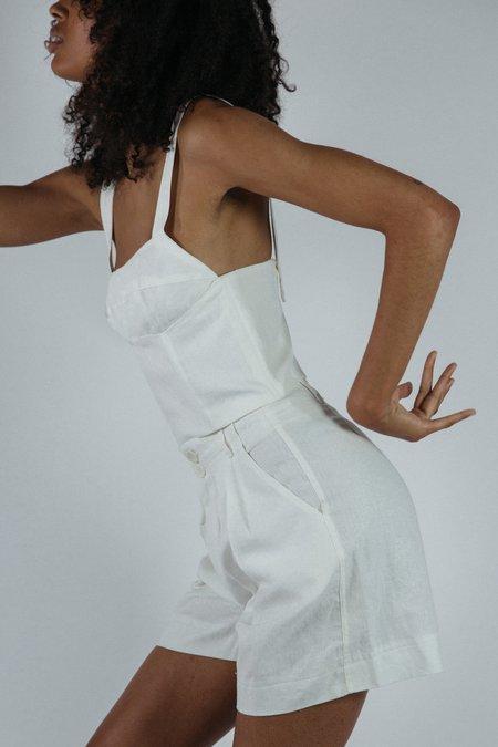 Angie Bauer Cassie Top - White