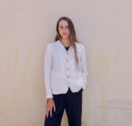 Pas De Calais Textured Jacket - Ivory