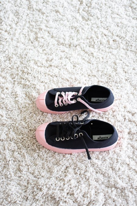 Novesta Star Master Sneaker - Black/Pink