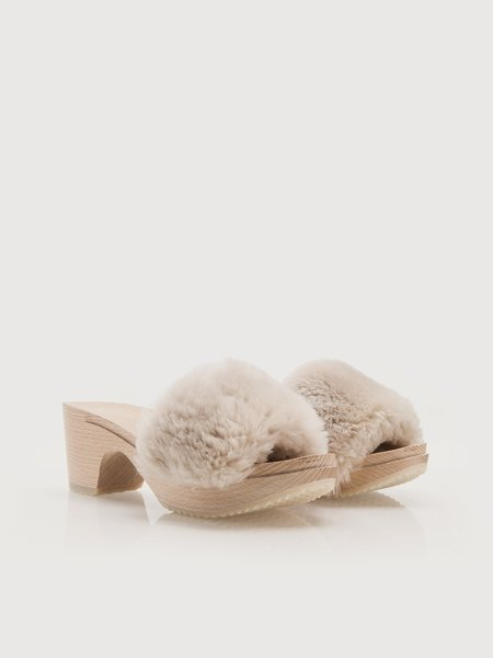 ZUZII FOOTWEAR Midi Clogs - Alabaster