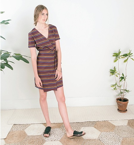 Dagg & Stacey Hunter Wrap Dress
