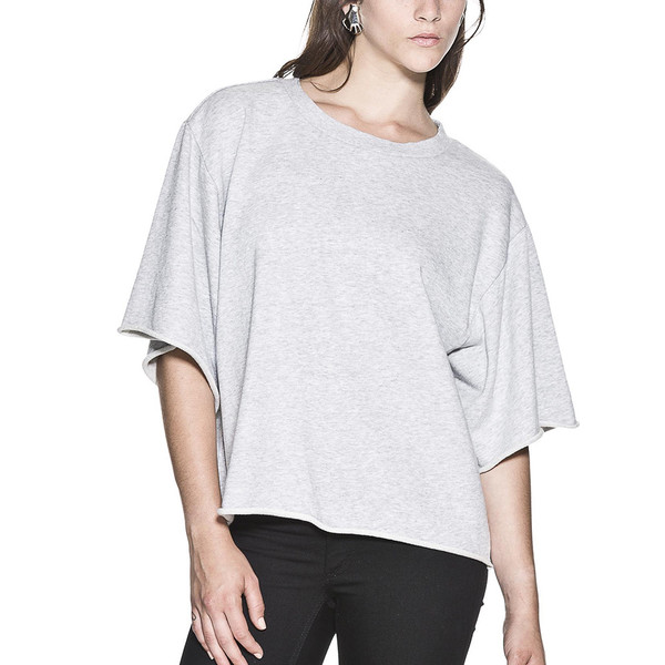 CHEAP MONDAY - WANT SWEATSHIRT in Pale Gray
