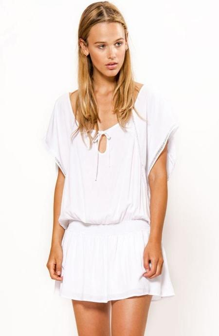 Primary New York Beach Dress - White