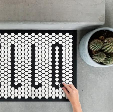 Letterfolk Tile Mat