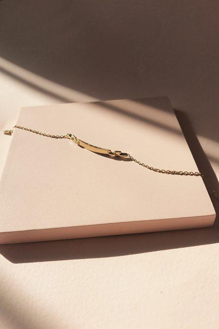 Maria Black Celeste Bracelet - gold