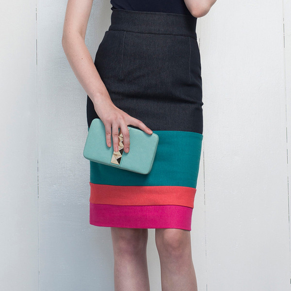 Hericher Poppy Marine Skirt
