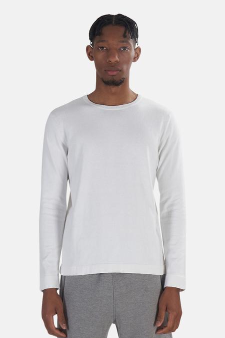 Wheelers.V Reade Long Sleeve T-Shirt - Laser White