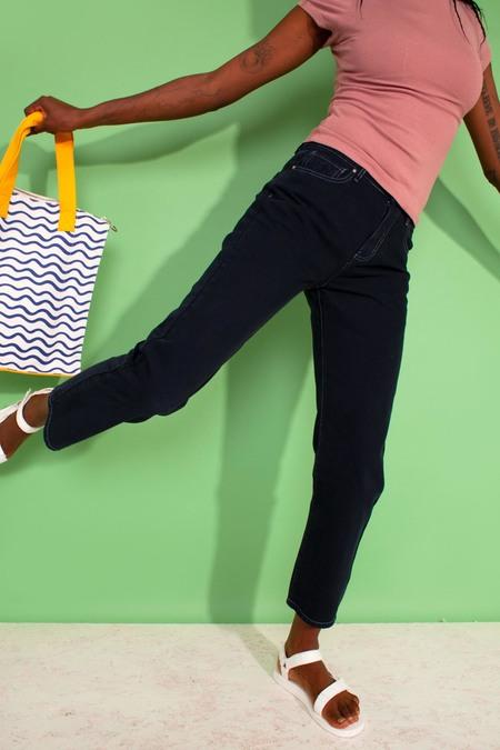 L.F.Markey Straight Cut Jeans - Navy