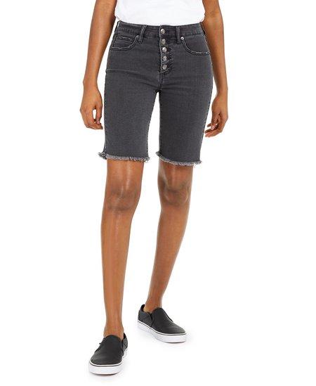 Oat Button Bermuda Shorts