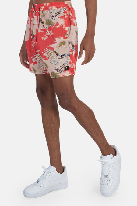 Thrills Falcon Volley Short - Red