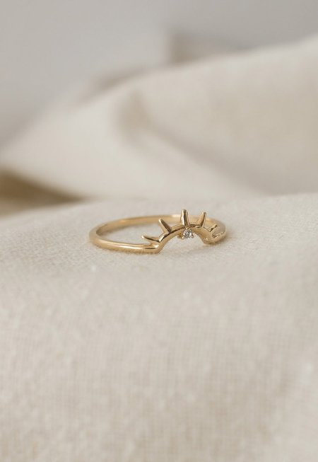 Merewif Find Us Young Ring - 10K Gold