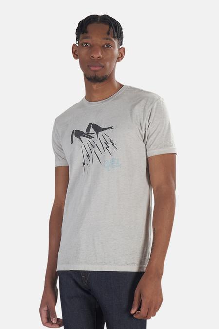 Blue&Cream x Kinetix Lighting Hands Graphic T-Shirt - Stone