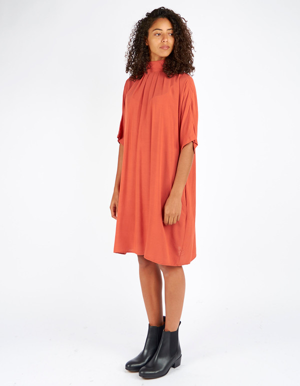 Storm & Marie Camill Dress Mecca Orange