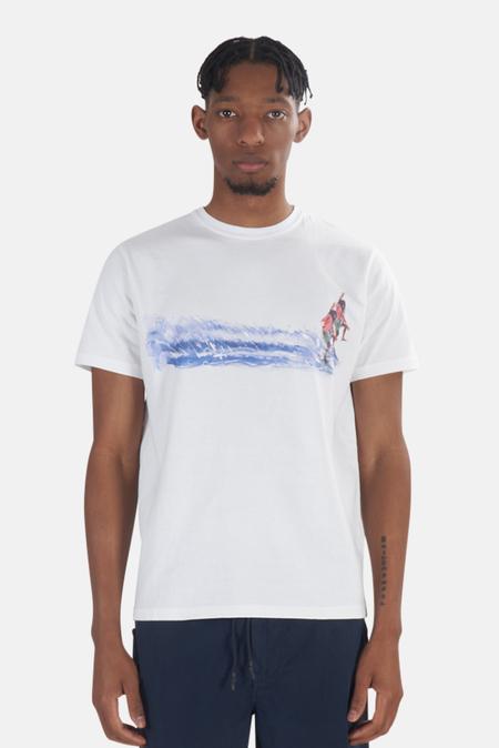 President's Mirage Surfer T-Shirt - White
