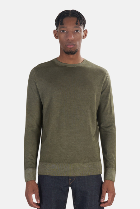 President's Wool Cashmere Sweater - army Green