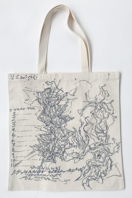Willow O'Toole Hand Painted Reiki Infused Tote