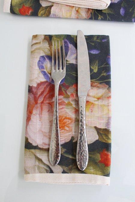 Beklina Bouquet Dinner Napkins - Floral