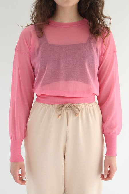 Paloma Wool Leds Pullover Top - Light Fuchsia