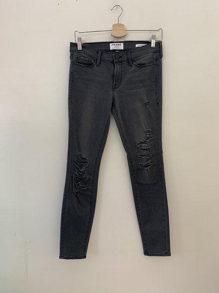 [pre-loved] Frame Denim Le Skinny de Jeanne Stretch Jeans - Grey
