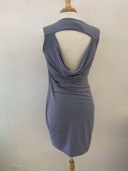 [pre-loved] Susana Monaco Drape Back Dress - Grey