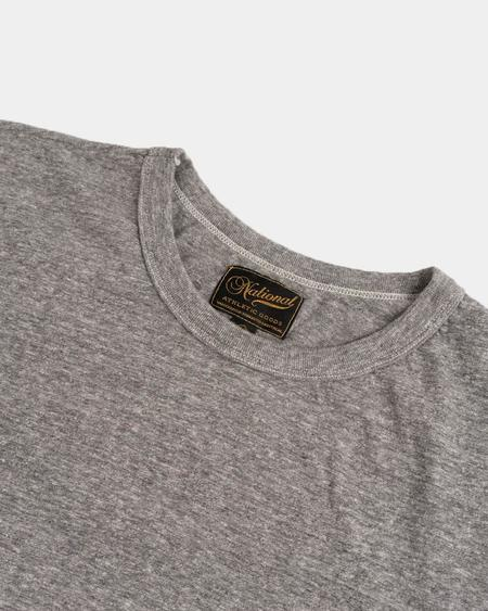 National Athletic Goods Athletic Tee - Sport Grey