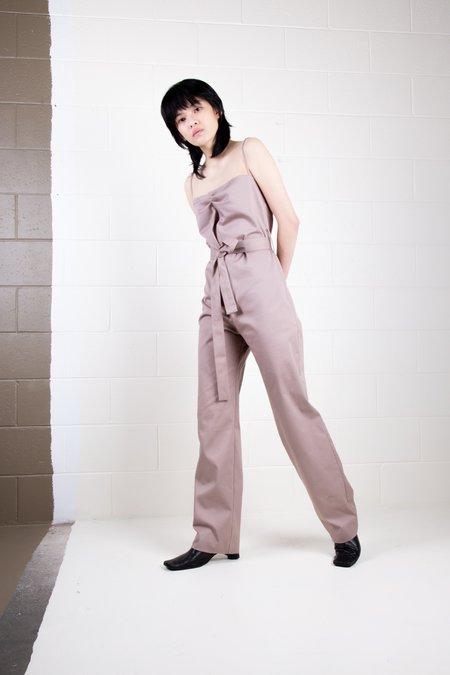 Rachel Mills Bernie Jumpsuit - Clay