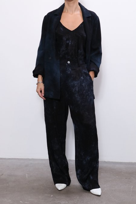 Raquel Allegra Painters Blazer - Dark Indigo