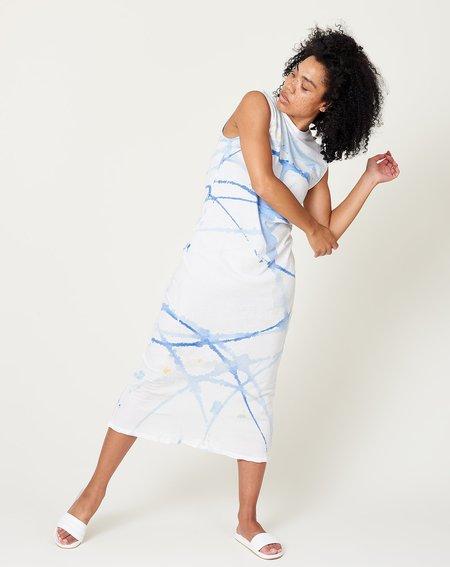 Raquel Allegra Mock Dress - Violet Watercolor