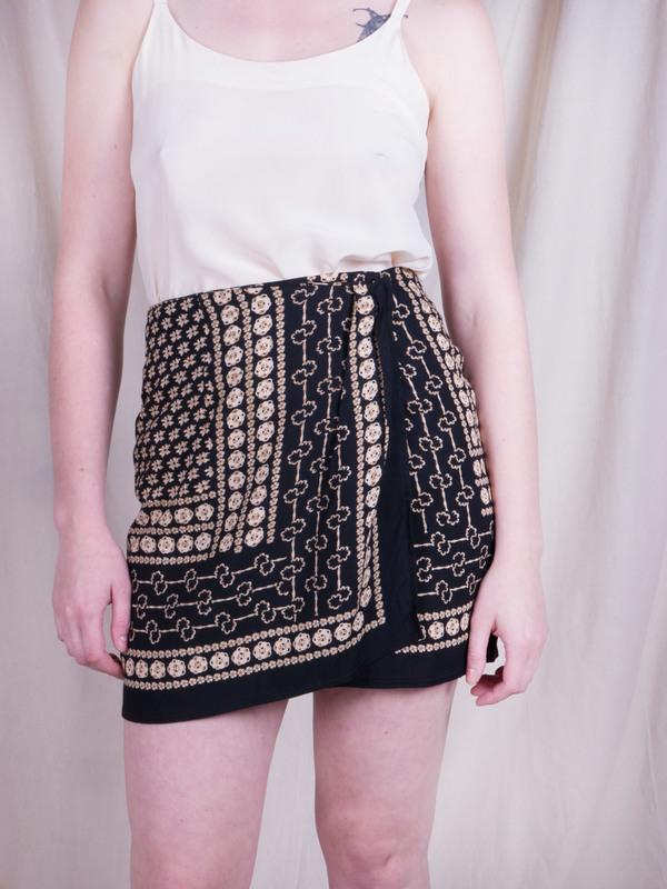 Woods Vintage Bandana Mini Skirt