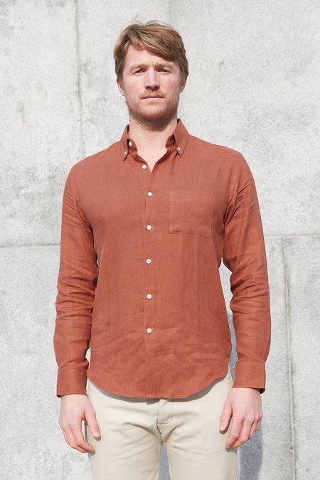 Alex Crane Sequoia Playa Shirt - Terracotta