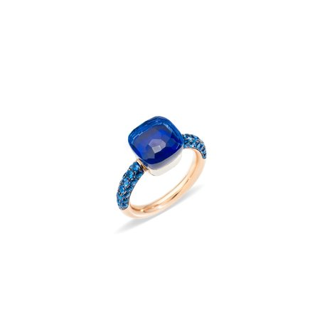 Pomellato Deep Blue Nudo Ring